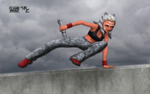 Ahsoka Jedi Battle Parkour by Master-Cyrus
