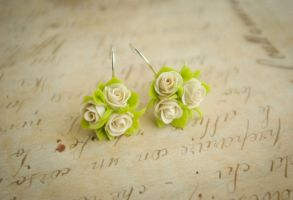 Wedding Earrings by Phorosw