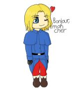 Chibi France by YoungPhoenix0
