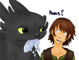 HTTYD: Noms? by Omnomnom-Monster