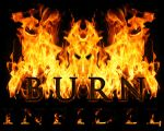 """Burn Infidel"" poster by animefreak2018"