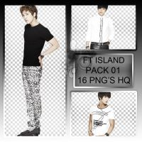 PACK #01 FT ISLAND by tutosparakpop