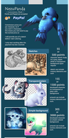 Commission Sheet [Outdated] by NezuPanda