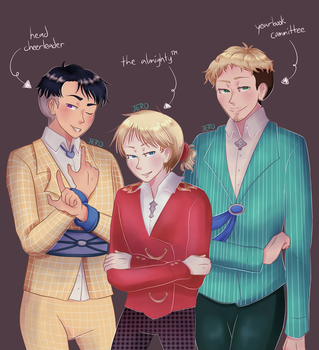 [YOI-He] They're solid Teflon by Jeroine