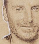 A, not too great, Michael Fassbender Portrait by bec1989