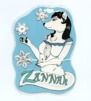 Zannah Badge by Frost-Claw-Studios