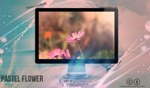 Pastel flower Wallpaper by enemia