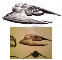 Shuttle Star Wars Style by Belzira