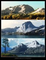 Snowy mountains by geograpcics