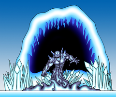 Summoned Water Elemental by Empawk
