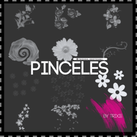 Pinceles Flores by ShinningButterfly