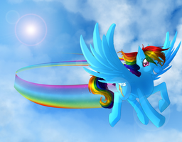 Rainbowdash redone by Neko-luvz