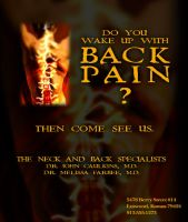 Fiveloaves - Back Pain Ad by fiveloaves