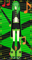 Toxica - Punk-Inspired UTAU:Vocaloid Design by 0Box-Ghost0