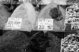 Special Spices. Monochrome. by johnwaymont
