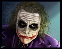 The Dark Knight - Joker by The-Bluetip