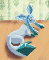 glaceon by gothYvonne