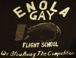 Enola Gay Flight School by Calcifer-Boheme