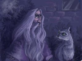 HP_Dumbledore and McGonagall by kissyushka