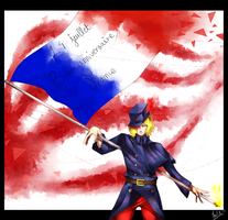 Happy Birthday France by Sarumi-off