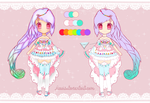 [ADOPTS] Colorful Lace - CLOSED by Aeuri