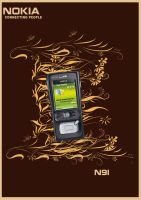 Nokia N91 Advertising by Fabiiii