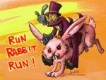 Superjail - run rabbit, run by Nomimo