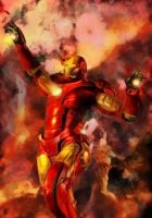 Homage to Iron Man 2 by marcoturini