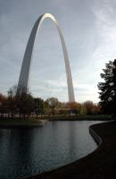St. Louis Arch by AlphieKC