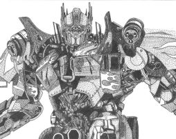 Optimus Prime by Goldenchupacabra