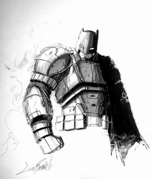 Armored Batman by LivioRamondelli