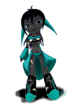 chibi Clunker  humanised by kalascee