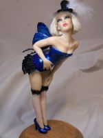 'Nicolette' burlesque fairy by AmandaKathryn