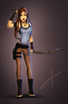Lara Croft Tomb Raider - A Survivor Is Born 2013 by FearEffectInferno