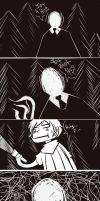 My dream of Slender man by Shino-Love-Bug248