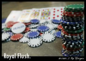Royal Flush. by myxiedoo