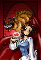 Beauty and the Beast by bezzalair
