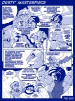 comic - Desty Nova masterpiece by Gettar82