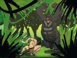 Tarzan of the Apes by Tannerama