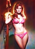 Raquel Welch Colored 2 by Xenomorph71