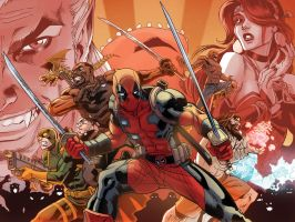 Deadpool: The Gauntlet #13 by ReillyBrown