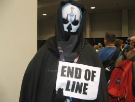 Its the end of the line for you! by fmagirl17