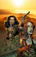 Athena Voltaire: Omnibus Cover by chadf