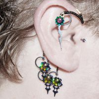 Steampunk Ear wrap v2- SOLD by YouniquelyChic