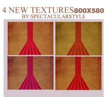 4 new textures by spectacularstyle