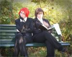 Young Grell and Alan Humphries by Lizzi-Chan1