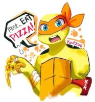 Must.. EAT PIZZA! by yuulzuo