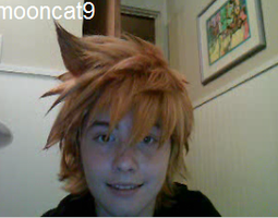 Roxas Wig Request by CautiousInsanity