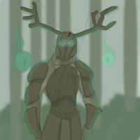 Painting Practice-Forest Guardian. by FNAFLOVER2015