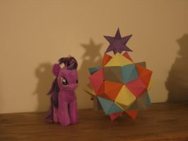 An Origami Tribute to the Elements of Harmony by KopaLeo